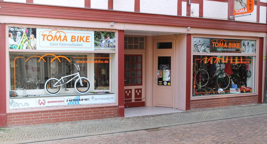 Toma Bike Fahrradladen in Salzwedel