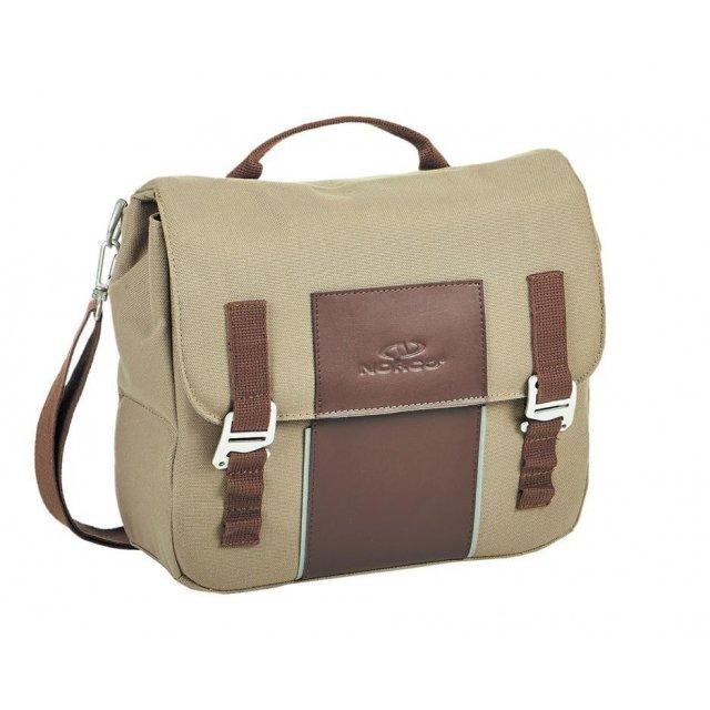 NORCO Gepäckträger-Tasche Crofton Retro Serie 31x17x16cm ca.640g 0224REBG beige