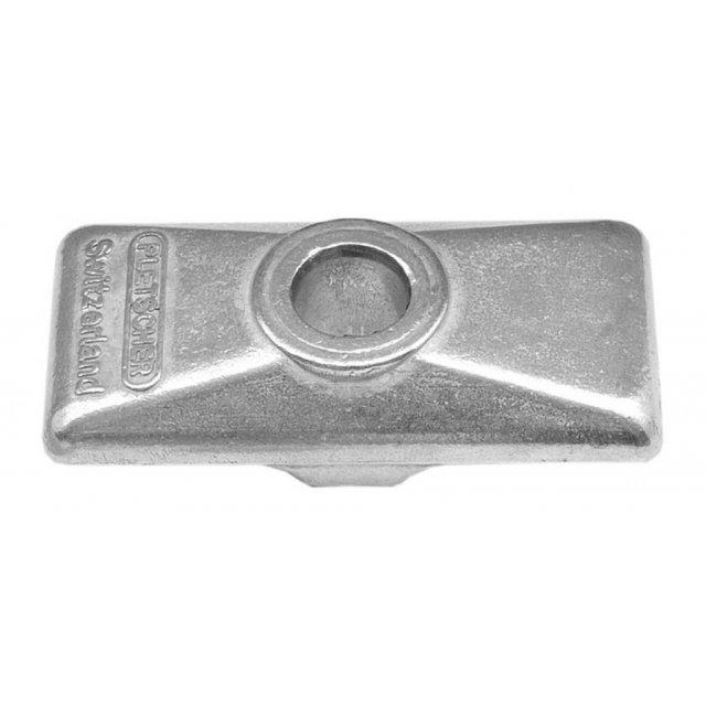 """265mm in Polybeutel,Erstmontage Seitenständer Esge 26/""""; silber"""