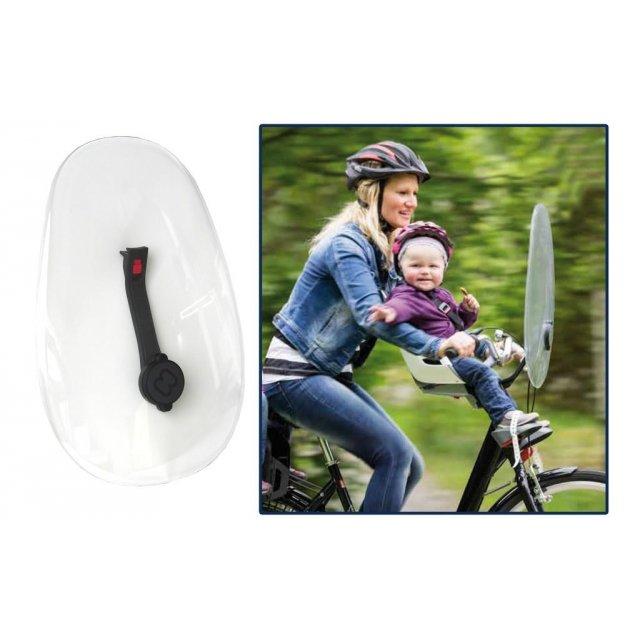 Fahrrad Kinder Sitz Fingerschutz für Sattelfeder Kunstleder mit Reflexband